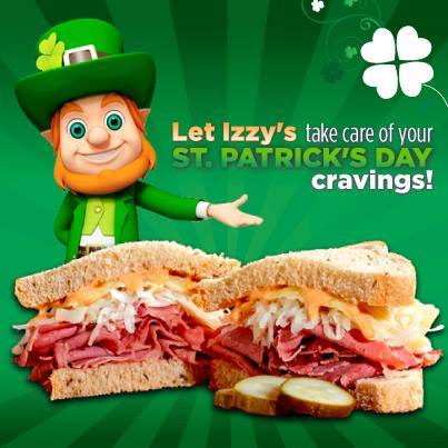 Izzys St Patrick Day